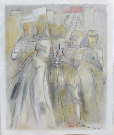 Jeanne devant Orléans